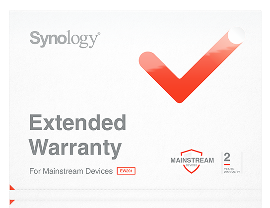 Engineered for reliability, backed by Synology