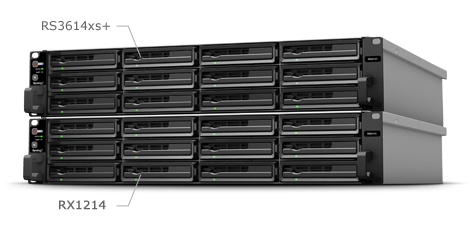 Robust Scalability up to 216TB