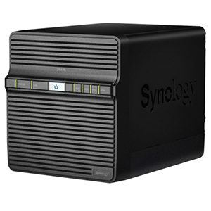 Synology DS418j Left View