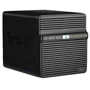 Synology DS418j Right View