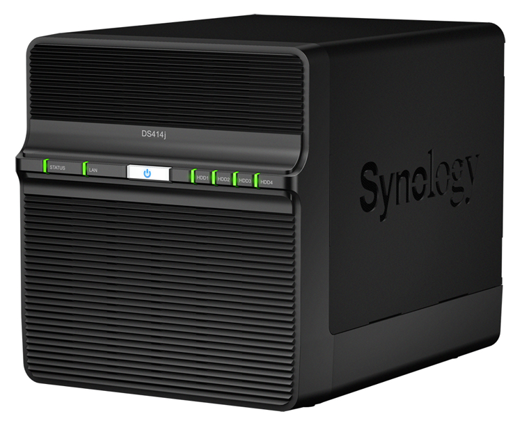 Synology DS414j (2 of 6)