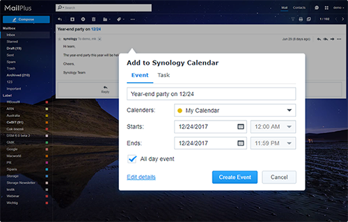 Manage to-dos with Calendar task plug-in
